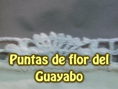 Puntas flor del guayabo |Creaciones y manualidades angeles