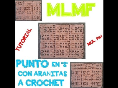 PUNTO FANTASIA A CROCHET - Manualidades La Manita Felíz