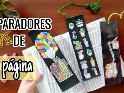 SEPARADORES DE PÁGINA PARA LIBROS ???? - DIY | Hazlo yourself