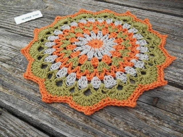 Tapete a Crochet o Ganchillo