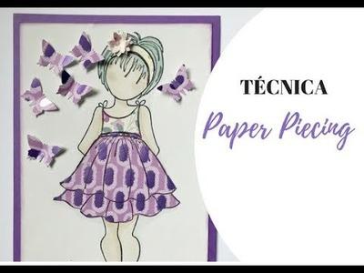 TECNICA SCRAPBOOKING: PAPER PIECING