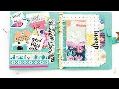 Unboxing Papel de Scrapbook Good Vibes de Crate Paper!