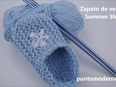 Zapato de verano para bebé