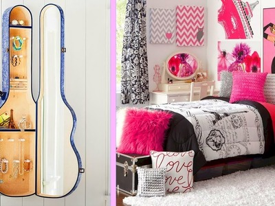5 INCREIBLES IDEAS DIY PARA DECORAR y ORGANIZAR TU CUARTO | ROOM DECOR IDEAS DIY