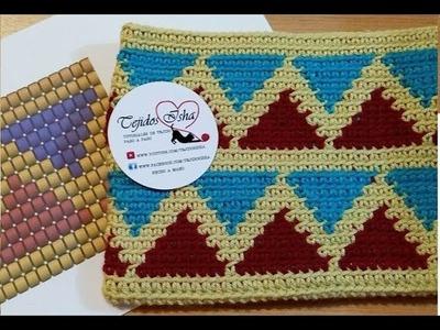 82.- Tapestry Crochet Ejercicio 2: Sobre para Tablet o estuche