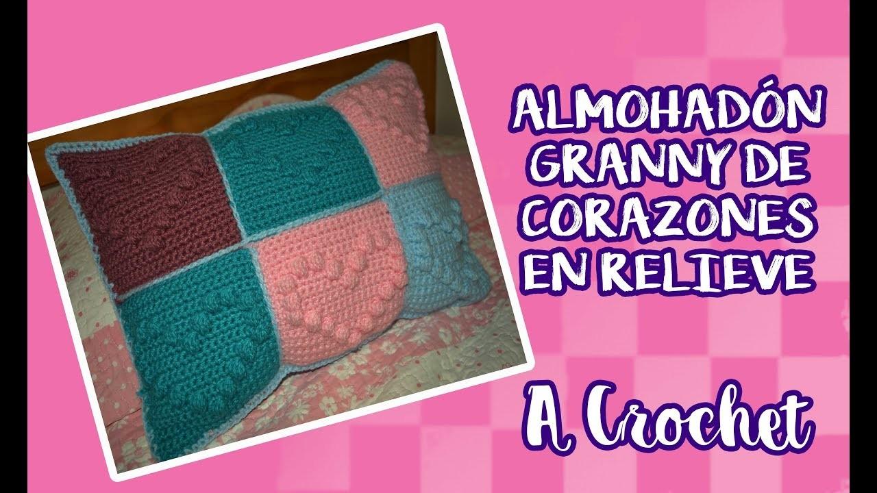 Almohadón Granny Corazón - Paso a Paso