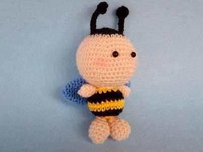 Ape Uncinetto Amigurumi Tutorial - Bee Crochet Abeja -  Croche Abelha