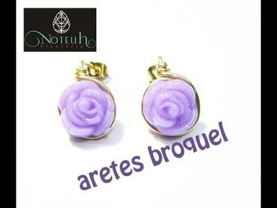 Aretes Broquel