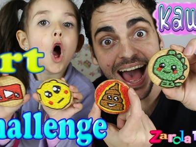 Art challenge decoramos galletas kawaii - kawaii - Zarola kids