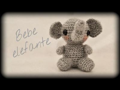 ????Bebe elefante ???? || Crochet o ganchillo