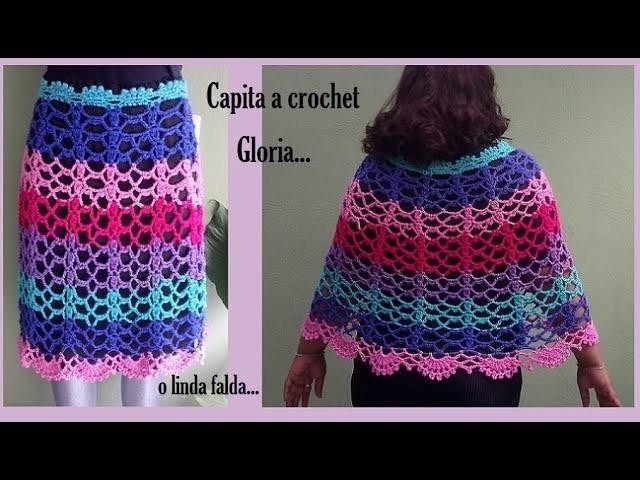 Capita a crochet Gloria