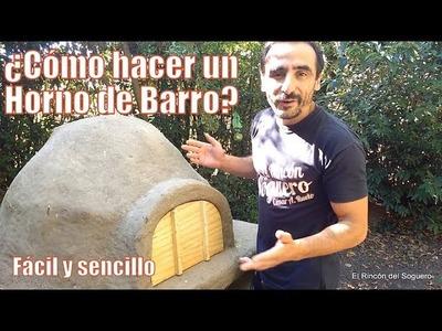 """¿Cómo construir un Horno de Barro con materiales reciclados? """"El Rincón del Soguero"""""""