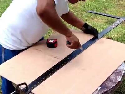 Como cortar un a hoja de triplay