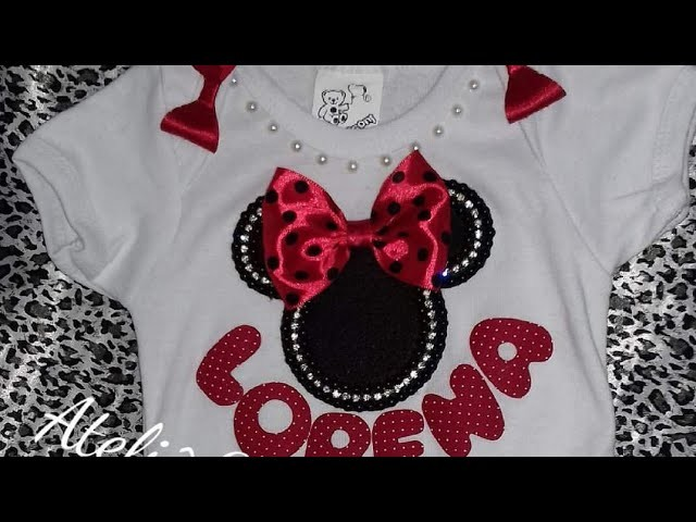 Como customizar Body ❤️ tema Minnie ❤️ DY ❤️ By Patrícia Yida