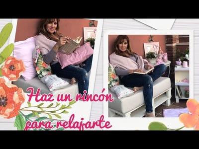 COMO DECORAR LA TERRAZA, Mi receta de  CHALK PAINT !! Reciclar un  PALET, frascos decorados. TODO!!