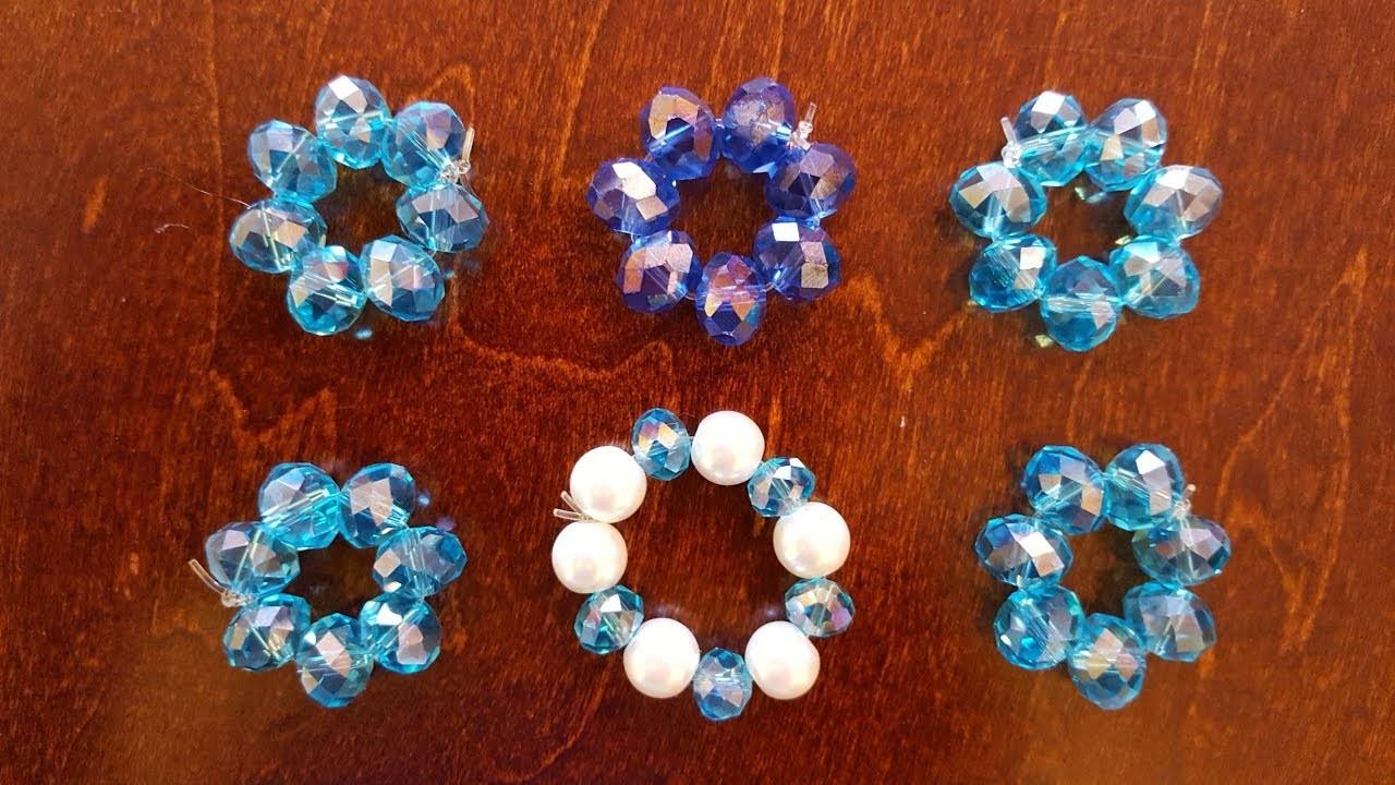 Como hacer separadores de cristal para bisuteria