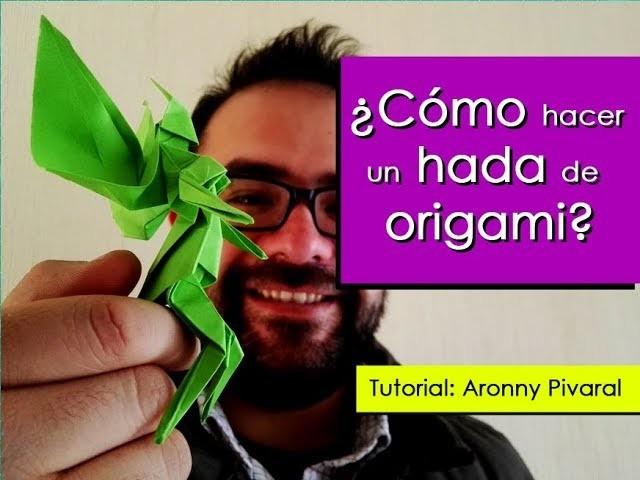 ¿Cómo hacer un Hada de Origami? Diseño de Yoshihisa Kimura