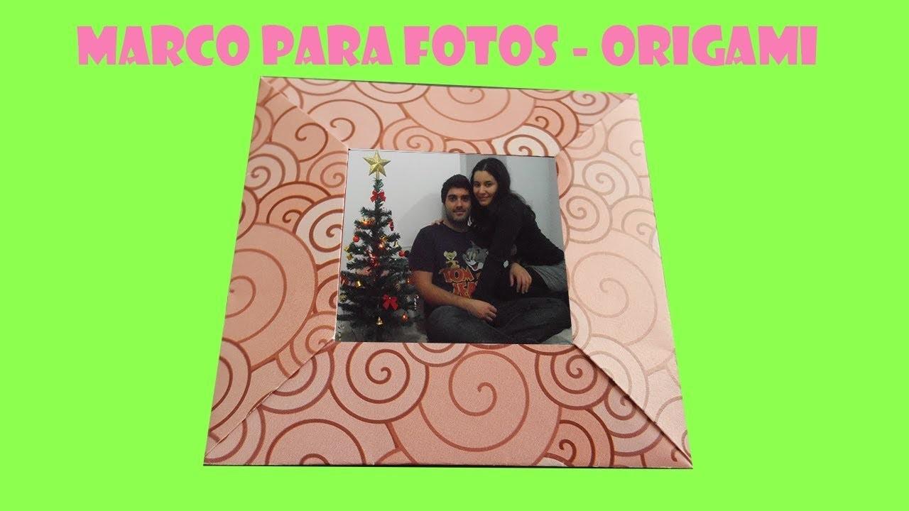 Cómo hacer un marco para fotos - Origami