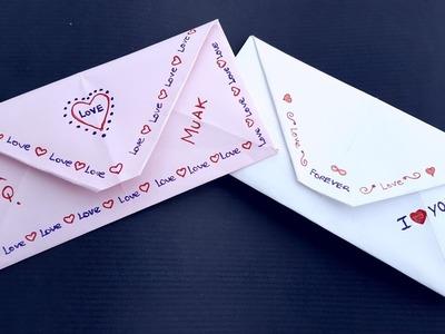 Cómo hacer un sobre para carta fácil - Origami