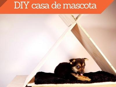 Cómo hacer una casa para tu mascota. DIY