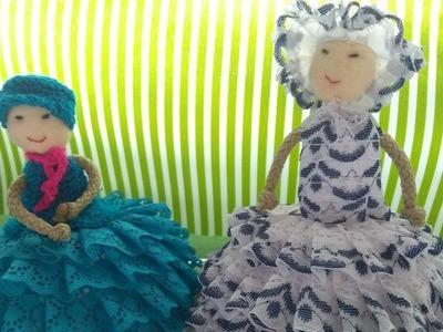 Como hacer una muñeca para decorar