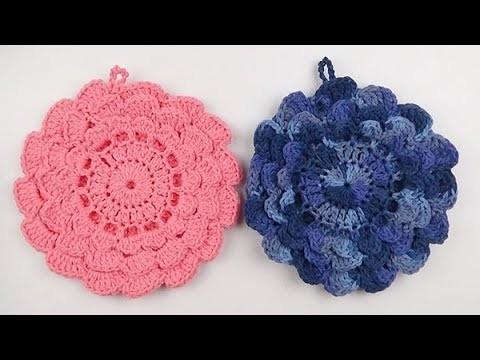 Crochet: Agarra Olla o Tortillero