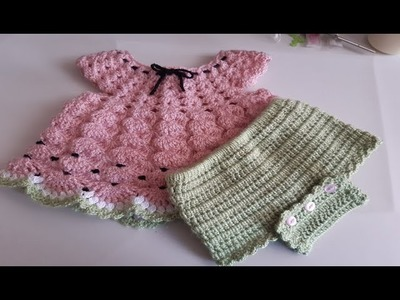 Cubre pañal a crochet -Ganchillo -  para bebe - super facil de tejer  - crochet diaper covers