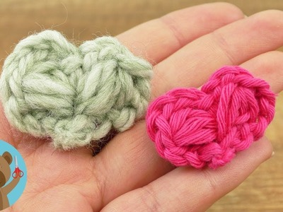 Cuoricini realizzati in lana | Idee regalo fai da te | DIY Facile