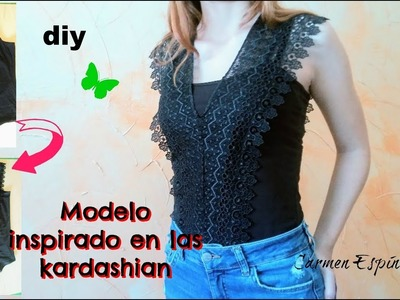 De camiseta a body:diy