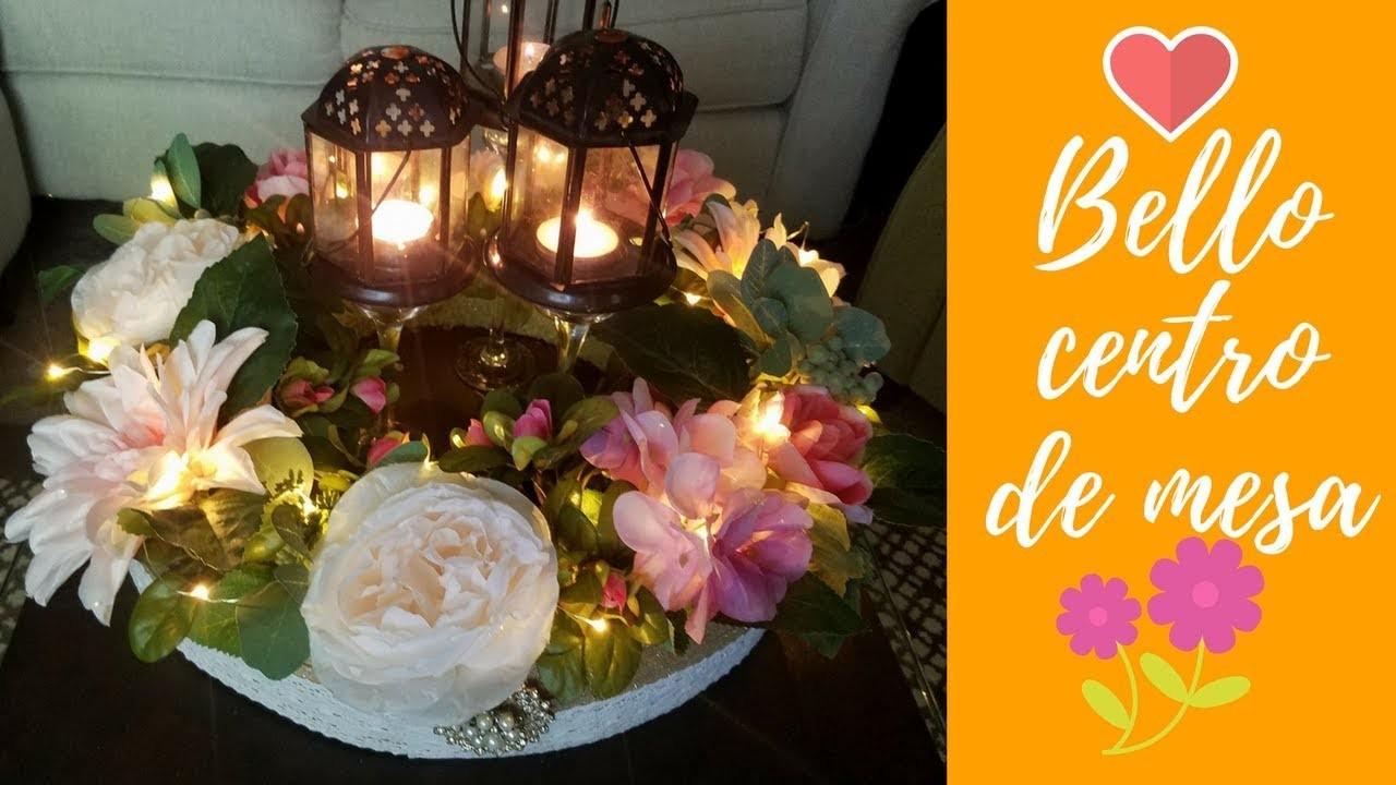 DIY Bello Centro de mesa. Centerpieces