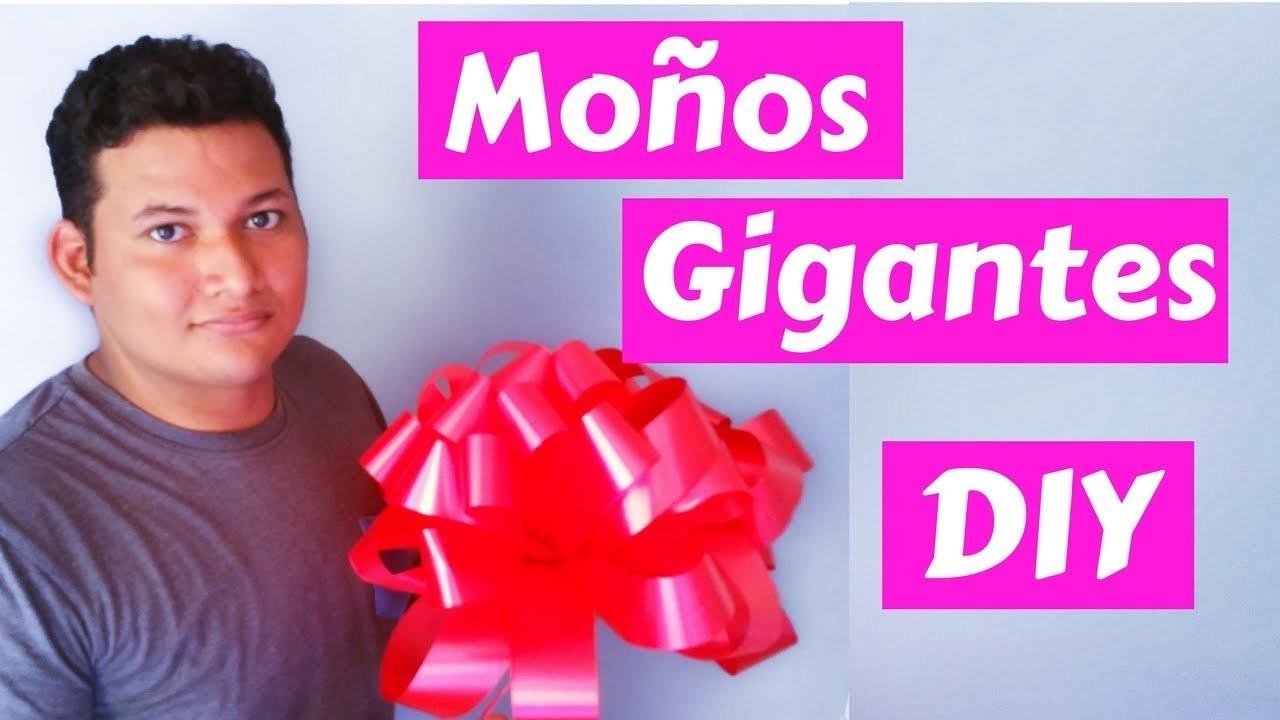 #DIY Como Hacer Moños Gigantes