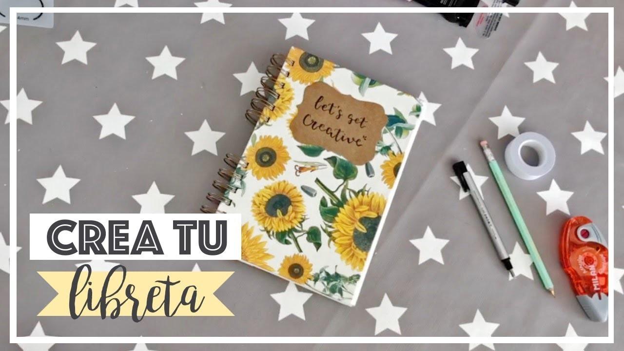 DIY: Crea una libreta desde 0. Make a notebook from 0