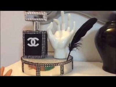 DIY DECORACION CHANEL. 1 PARTE