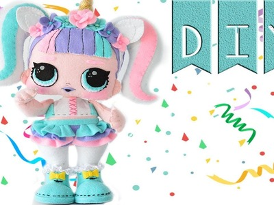 Diy Doll Unicorn ✔ 100% Felt ???? Ovejita Craft