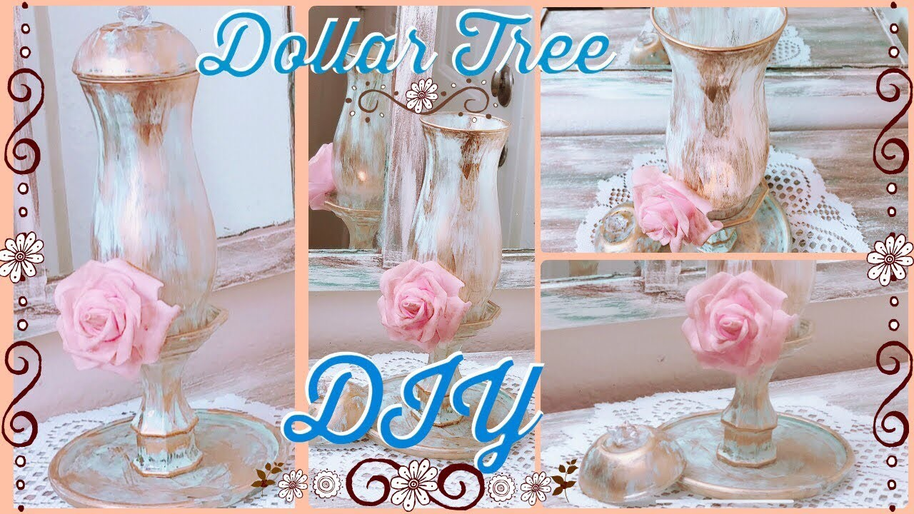 DIY Dollar Tree Nunca Antes Visto