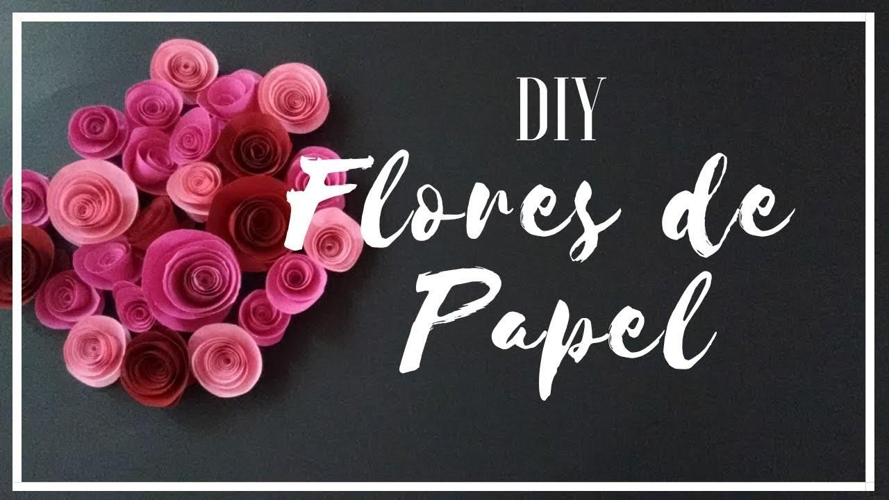 DIY Flores de Papel. DIY Paper Flowers | BALALAB ♥