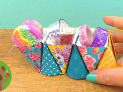 DIY Inspiración | DIY organizadores de papel y para cosméticos | Hermosas ideas español