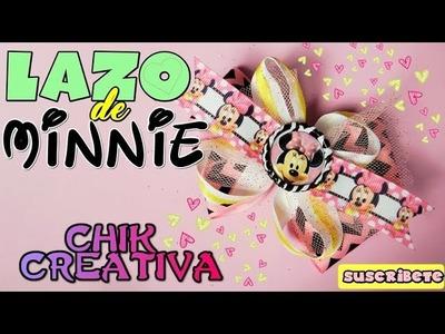 DIY ♥ LAZO de MINNIE para Niñas