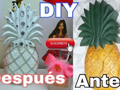 DIY Piña Decorativa.Glam. Decorhome.Decor ????