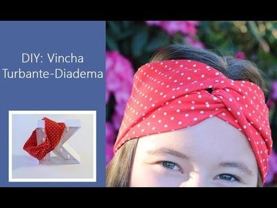 DIY : Turbante Diadema.Vincha. El accesorio del verano ♥