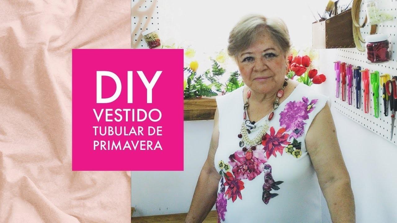 DIY :: VESTIDO TUBULAR DE PRIMAVERA