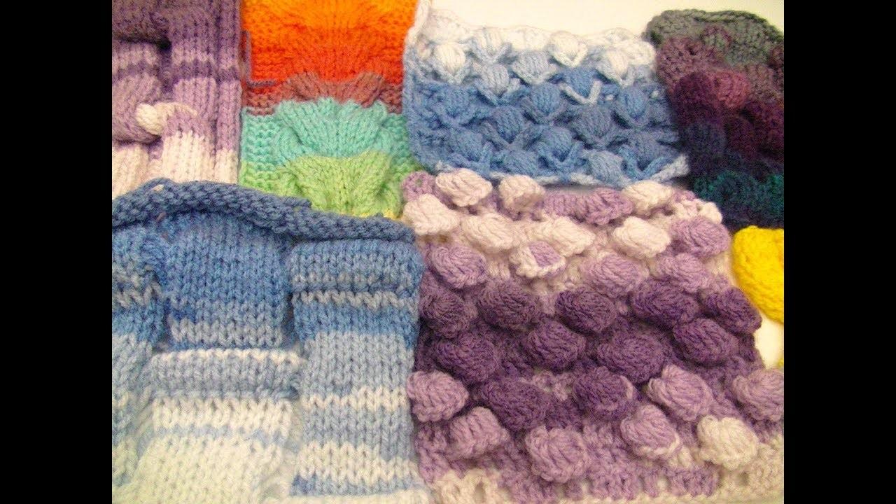 ES#171-Muestras de Crochet y Punto
