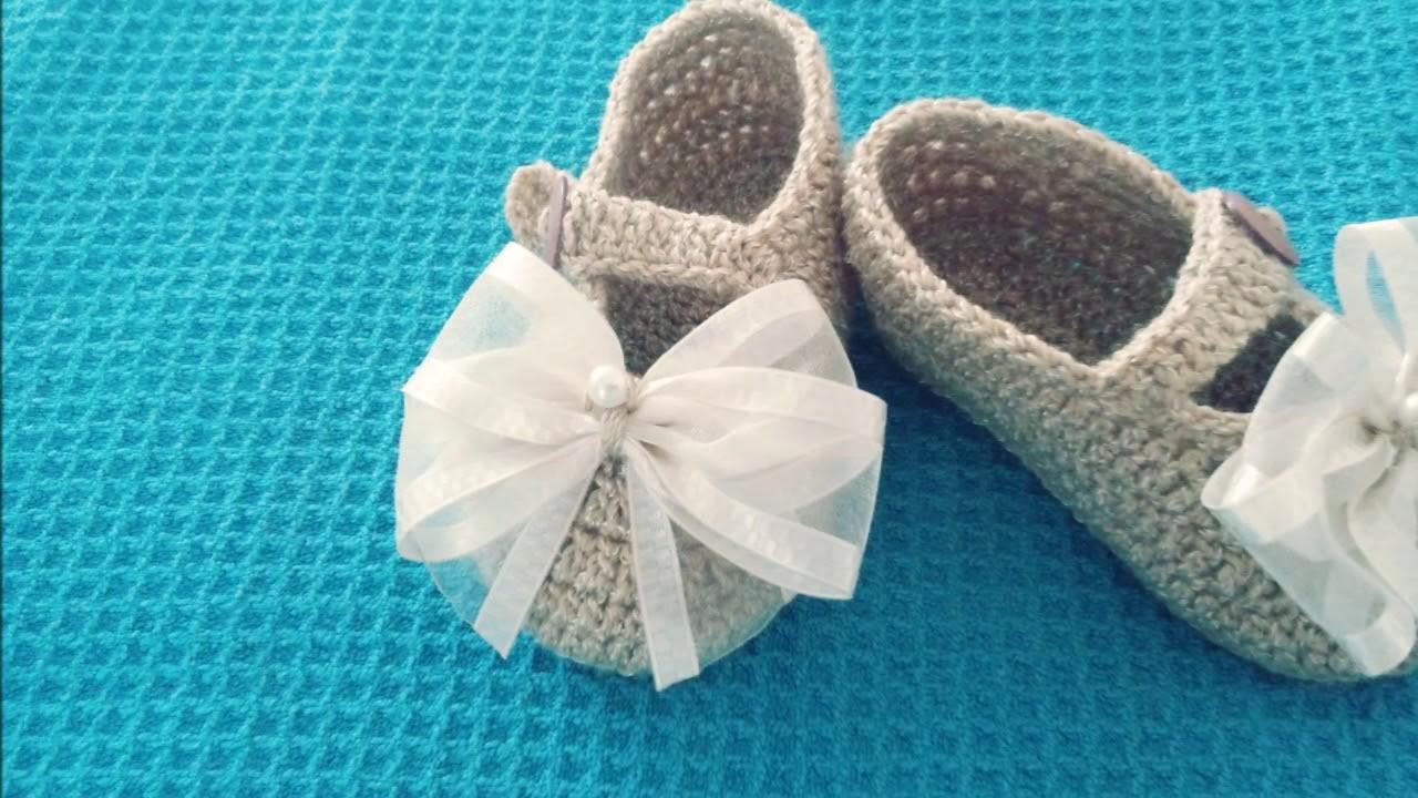 Ganchillo - Colección zapatitos tejidos #pedido especial