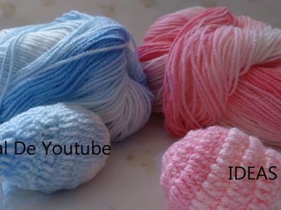 Ideas para regalar a Crochet: Huevos y Setas hechas con mucho AMOR!!!!