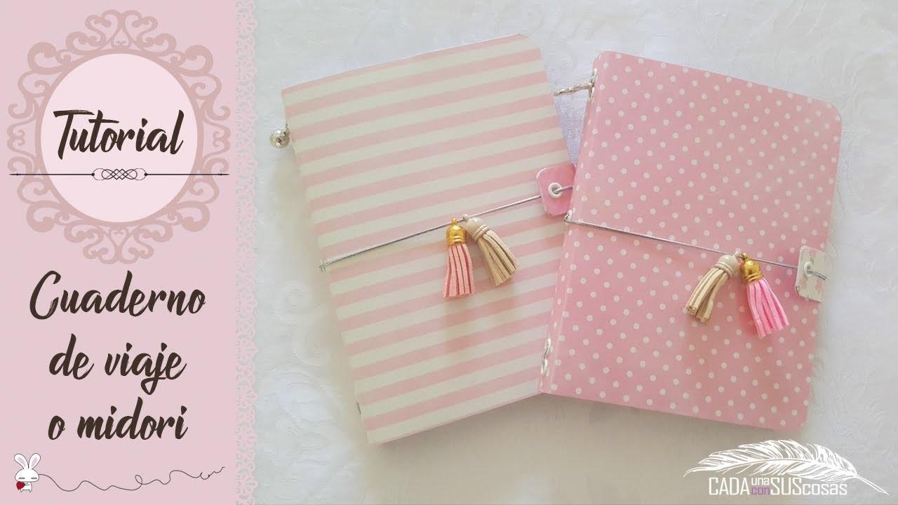 ¡MUY CUQUI! Cuaderno de viaje o agenda Midori