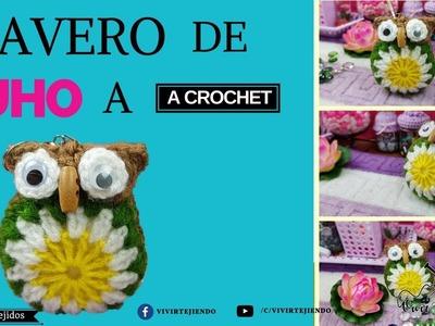 Llavero de Búho a crochet | Curso de Crochet online | Cursos de tejidos