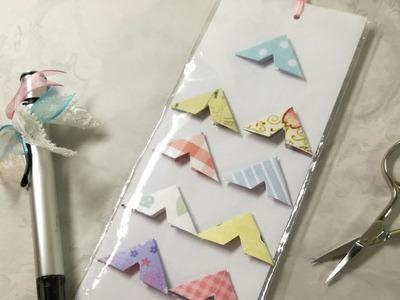 Manualidades: Scrap DIY ✄  Como hacer Esquineros de Papel para Fotografías de manera fácil