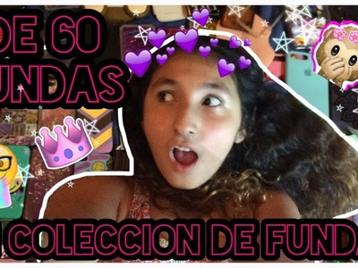 MI COLECCION DE FUNDAS GIGANTE +DE 60 FUNDAS (iphone 7p, 5s 4 y mas)