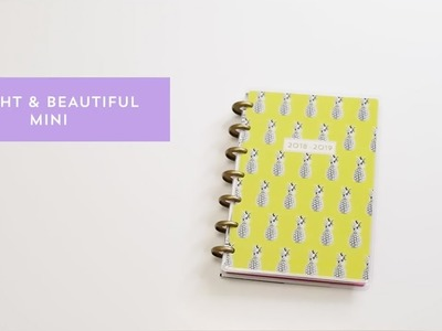 Mini Happy Planner Bright and Beautiful - The Happy Planner 2018