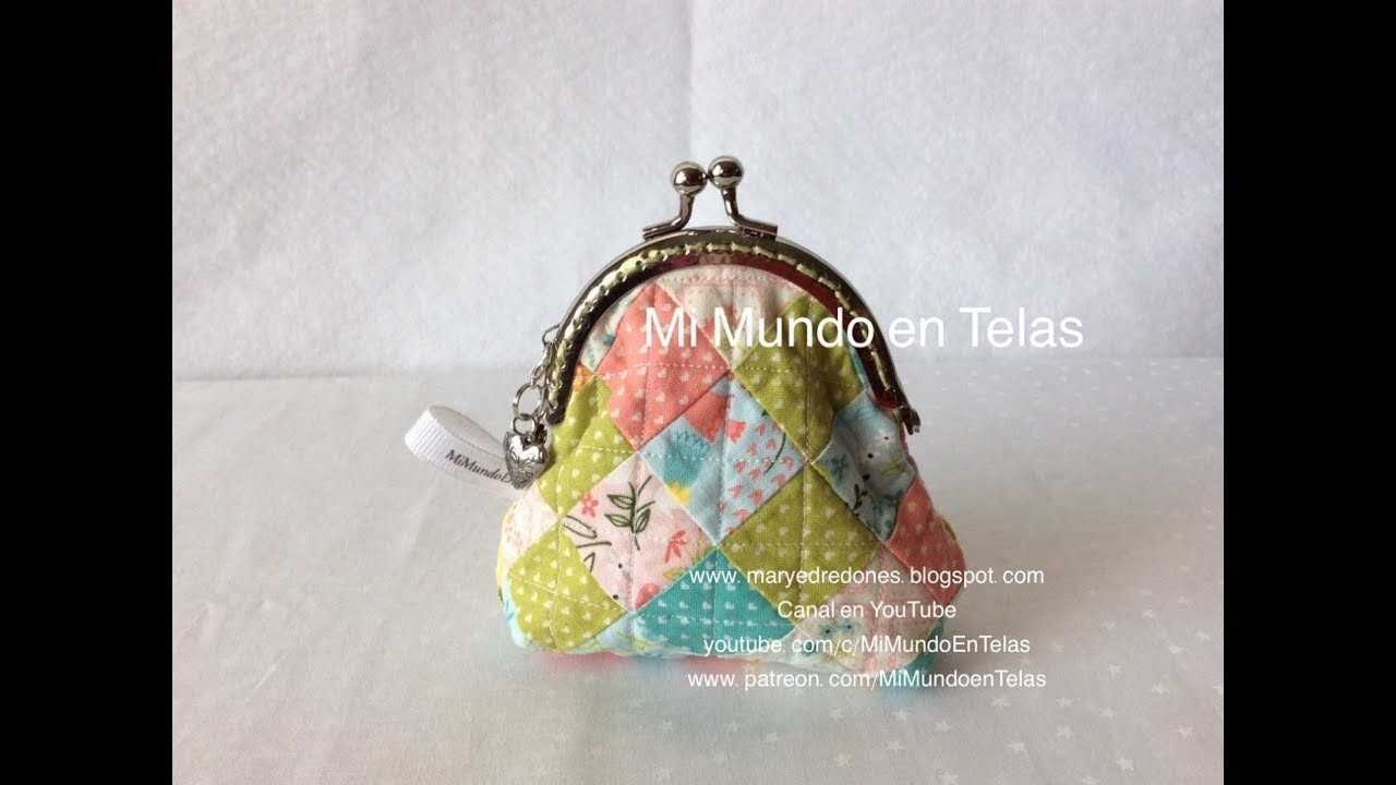 Monedero con Boquilla - Coin Purse